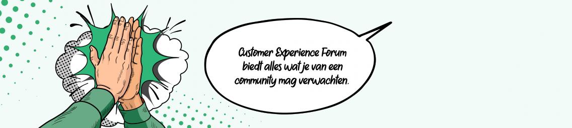 Customer Experience Forum biedt alles wat je van een community mag verwachten.